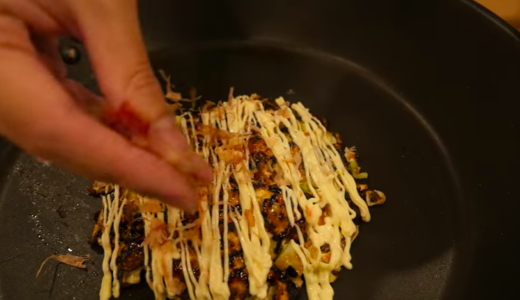豆腐を使った生地フワフワお好み焼き【低糖質レシピ】