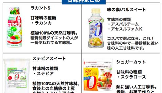 【糖質制限ダイエット】砂糖の代わりに使える低糖質な甘味料オススメまとめ